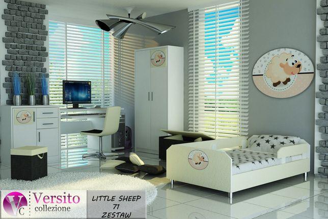 Łóżko dla dziecka z materacem 10 cm,2xbarierka,dziecięce,DOSTAWA
