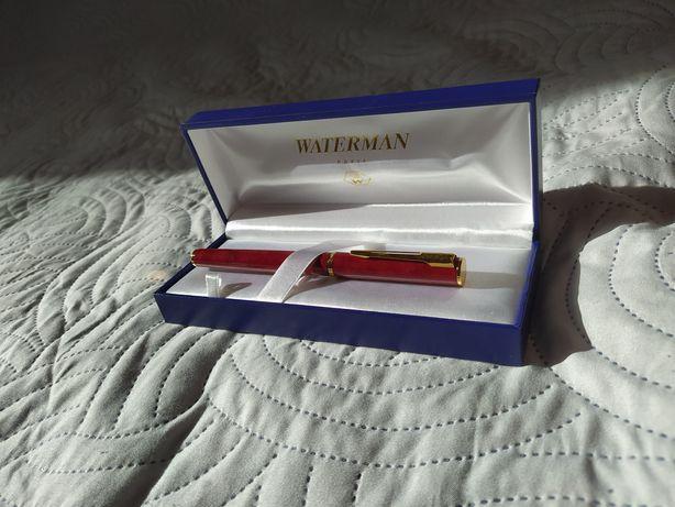 !!! SPRZEDAM!!! Pióro kulkowe firmy WATERMAN marmurowa czerwień