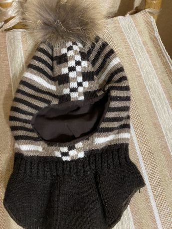 Фирменная зимняя шапка шлем Lenne Reima Elf-kids