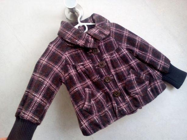 Куртка пальто пиджак деми Next на девочку 3-4 года