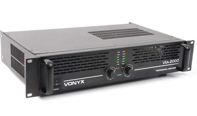 Końcówka mocy VONYX VXA-2000 2x1000Watt Sklep Wągrowiec