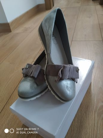 Nowe buty, czulenka 37 srebrne