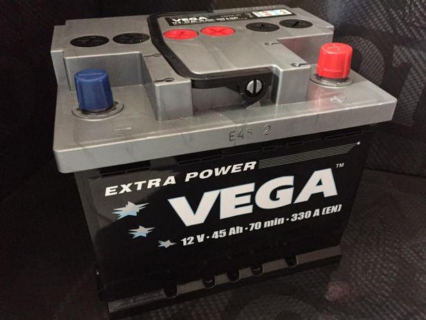 Dzierzkowice - Akumulator Vega 12V 45Ah 330A Bezobsługowy PROMOCJA
