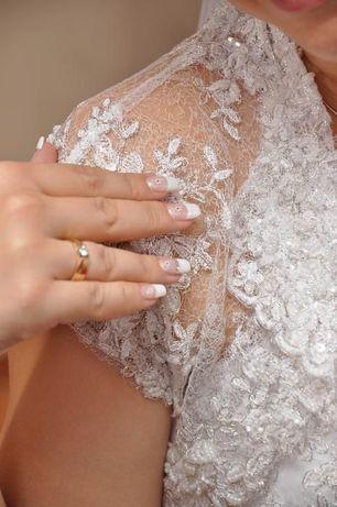 Koronkowa suknia ślubna 36 38