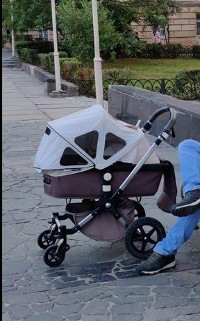 Коляска 2в 1 Bugaboo Cameleon 3, дощовик, парасолька