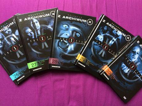 "Serial "" Z archiwum X"", sezon 5."