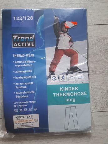 Nowe Spodnie narciarskie-termiczne 6-7 lat