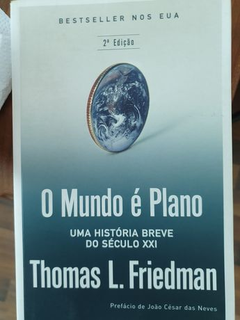O Mundo é Plano - Thomas L. Friedman