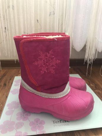 Ботинки для девочки зима зимние