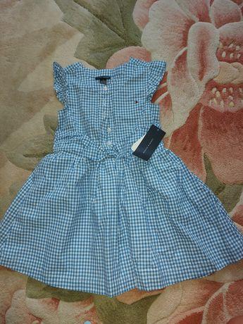 Літнє плаття для дівчинки 4 - 5 р
