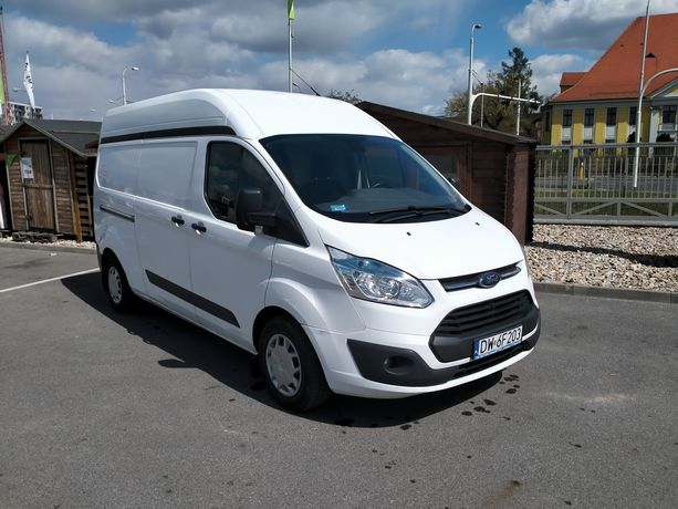 Ford Transit Custom 2.2 Full gwarancja 2023 ASO zadbany  125km VAT-1