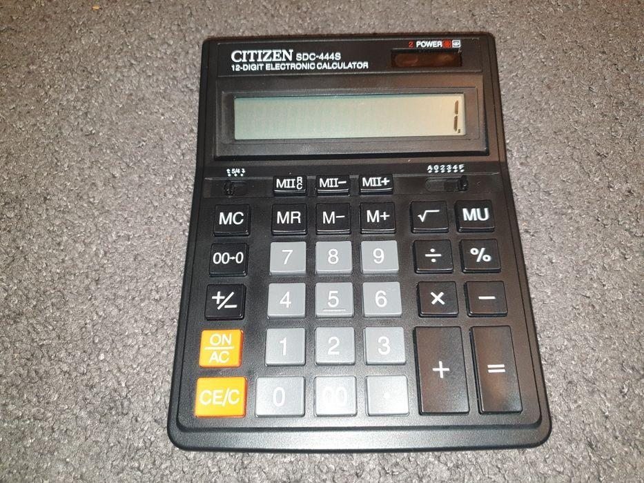 Duży kalkulator biurowy Citizen Łódź - image 1