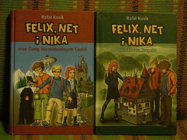Dwie ksążki dla starszych dzieci Rafała Kosiaka
