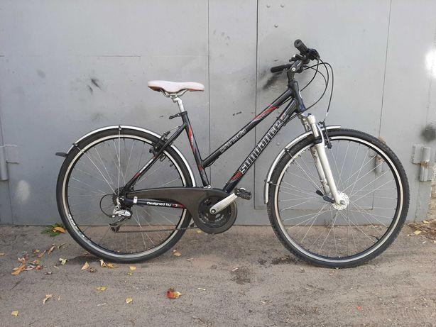 Велосипед 28 SUNDANCE(алюм) 24 пер,DEORE LX,аморт. з локаутом,з Німеч.