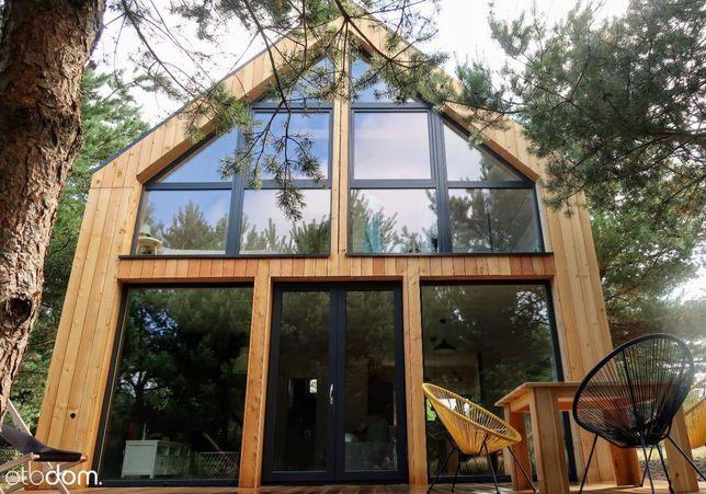 Sasino - drewniany dom nad morzem