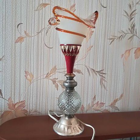 Настольная лампа,светильник,винтаж,СССР.