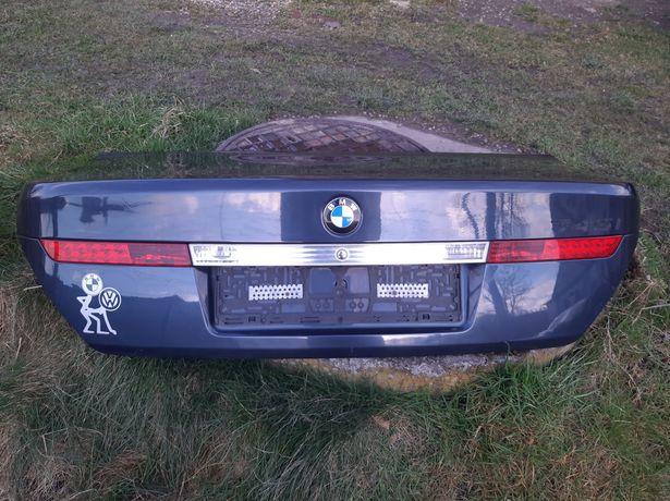 Klapa bagażnika BMW e65 Toledoblau