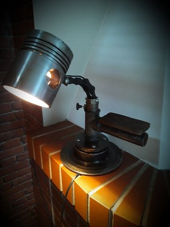 Lampka na biurko/nocna loft industrial