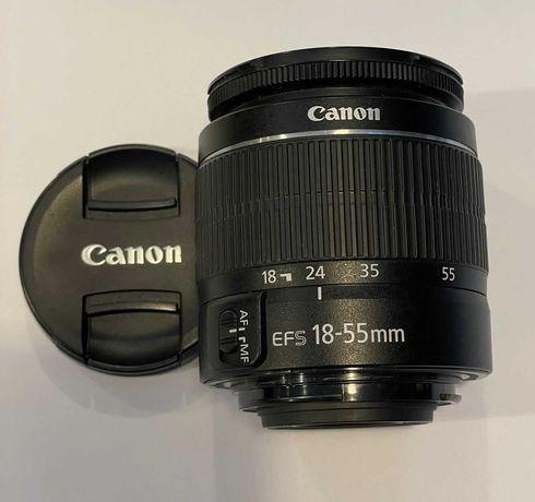 Obiektyw Canon EF S 18-55mm+filtr Marumi.::DELTA::.
