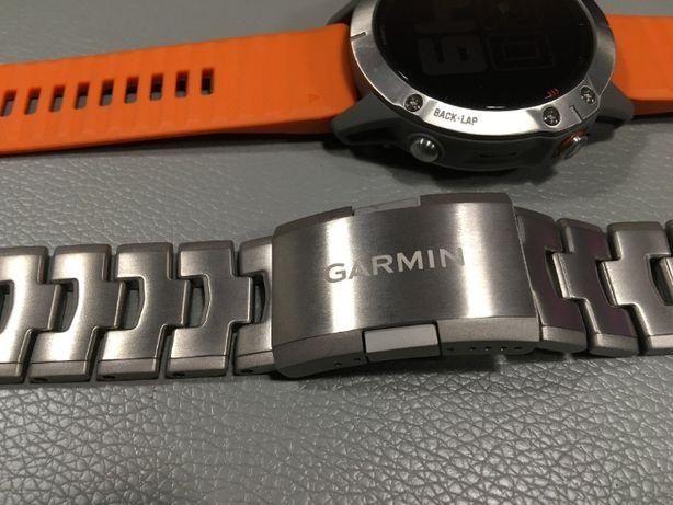 GARMIN Tytanowa bransoleta z otworami QuickFit Fenix 6 22mm