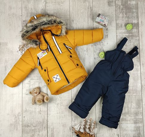 Зимний детский комбинезон для мальчика/комбінезон для хлопчика