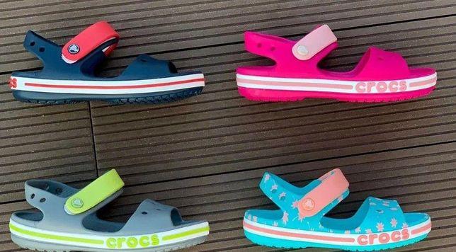 Детские crocs sandal crocband для девочки и мальчика сандалии крокс 31