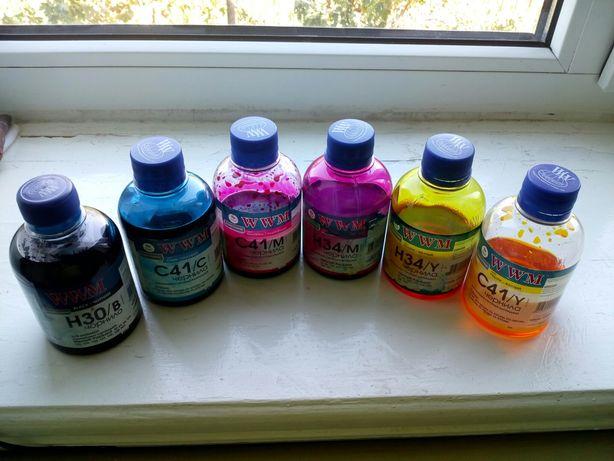 Краска для принтера водорастворимая