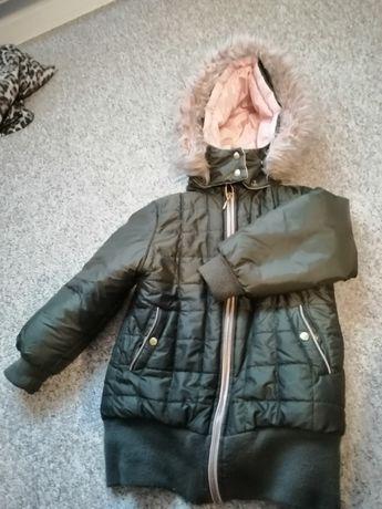 Kurtka parka zimowa dla dziewczynki Wójcik 110 cm