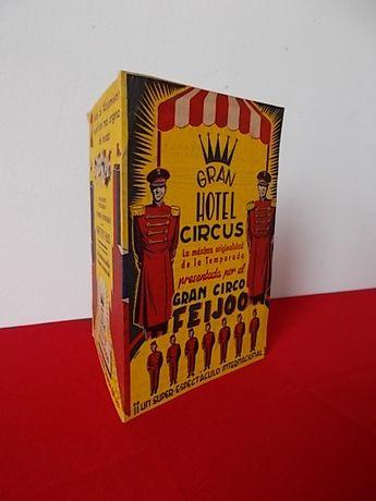 Antiga Programa de Circo Feijoo. Espanha. 1950. Gran Hotel Circus
