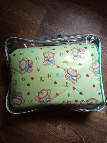 Детское одеяло в кроватку. Тёплое детское одеяло + подарок