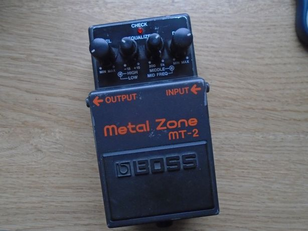 Boss MT-2 Metal Zone || O. Englund, Cannibal Corpse , Abbath