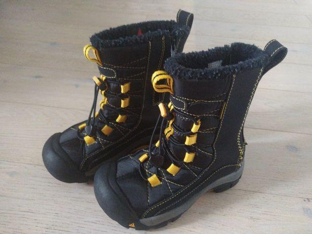 Zimowe buty, kozaki, śniegowce KEEN rozmiar 31 jak nowe