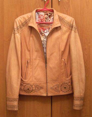 Женская кожаная куртка LEVINSON р.40