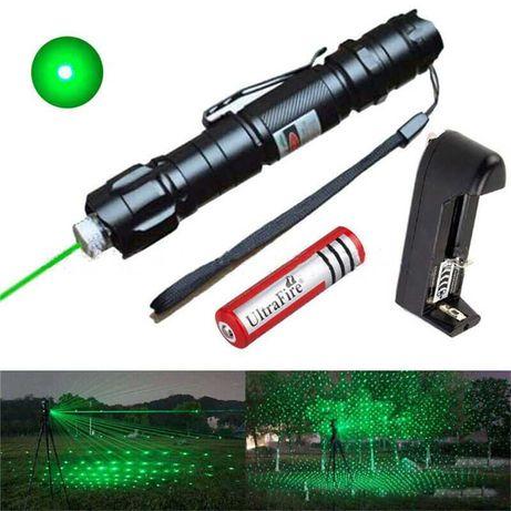 Laser de cor verde