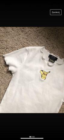 Koszulka pikachu bershka