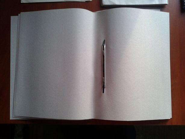 Папки-скоросшиватели, картонные