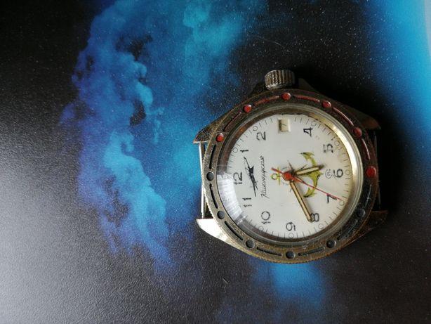 Radziecki zegarek wastok amfibia