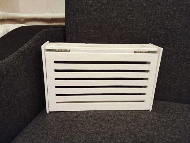 Настенный ящик для вай фая. Полка, шкаф для wifi. Полка для роутера