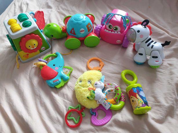 Zabawki Fisher Price zestaw dla malucha + gratisy