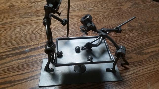PREZENT-metaloplastyka, rękodzieło z metalu,art deco, bilard