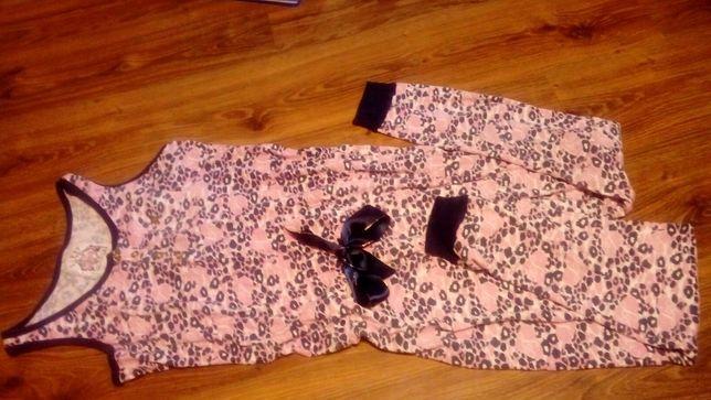 Piżama kombinezon bawełniane