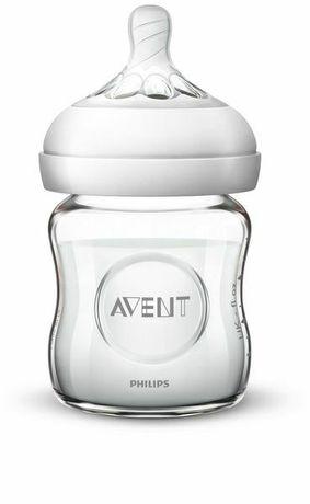 Бутылочка стекло Philips Avent Natural, стеклянная, 120мл