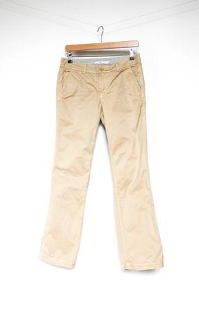 Tommy Hilfiger spodnie beżowe chinos 8 S
