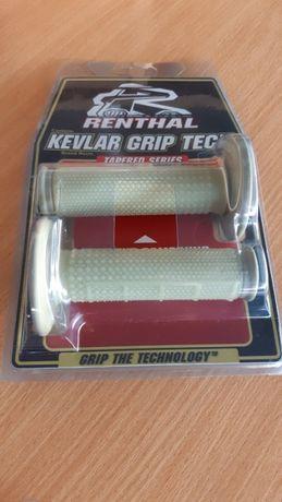 Мотогрипсы Renthal MX Dual Compound Grips KEVLAR