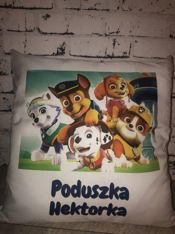 Poduszka Psi Patrol z twoim imieniem / personalizowany prezent