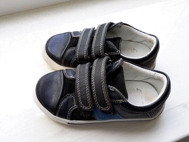 Ботинки кеды кожаные бартек bartek  28