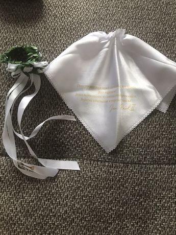 Ozdoba/stroik na gromnice chrzest