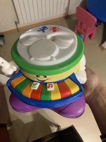Развивающая игрушка барабан Kiddieland