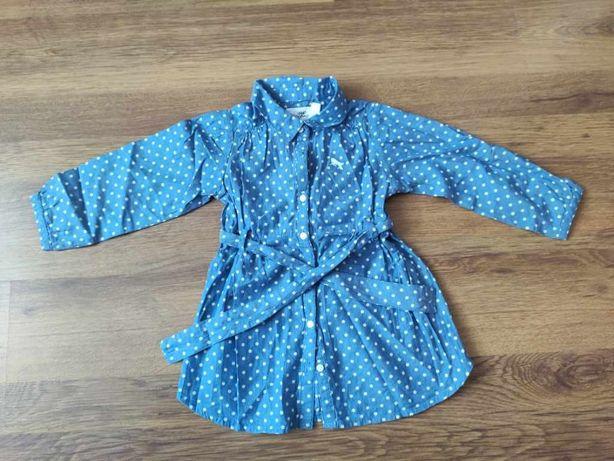 Sprzedam sukienkę dziewczęcą H&M, rozmiar 86