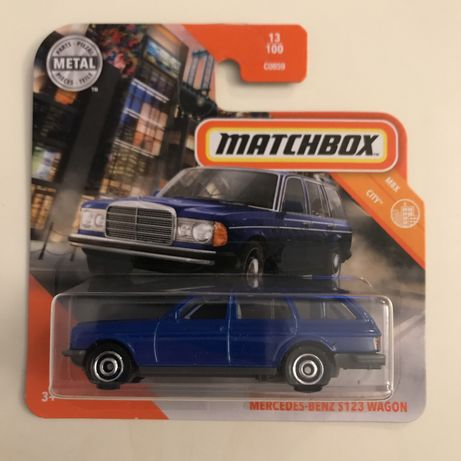 Matchbox Mercedes-Benz S123 Wagon (W123) 13/100